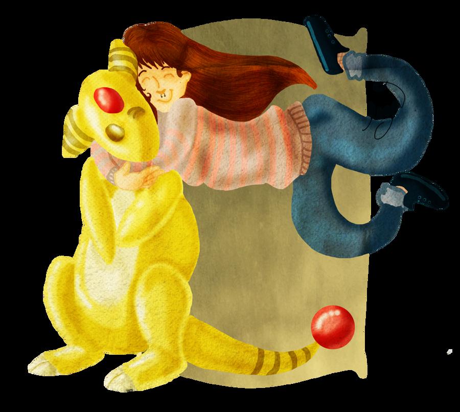 some ampharos lovin' by Lizeeeee