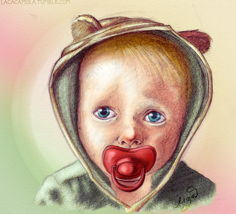 baby bear by Lizeeeee