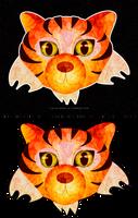 tiger tiger by Lizeeeee