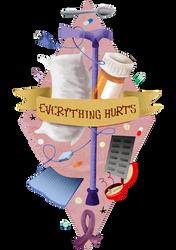 everything hurts by Lizeeeee