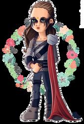 (mini) Lexa war portrait by Lizeeeee