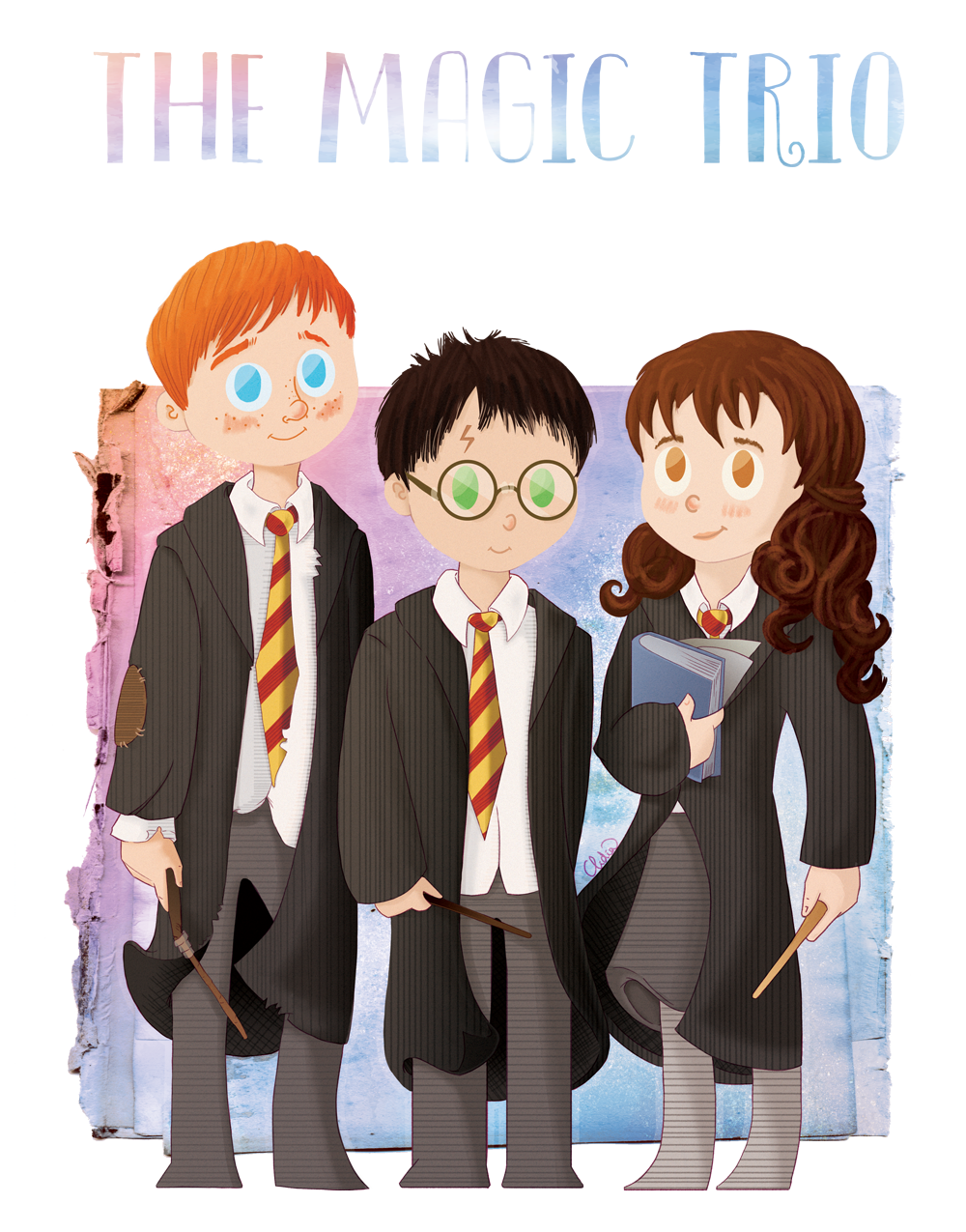 magic trio by Lizeeeee