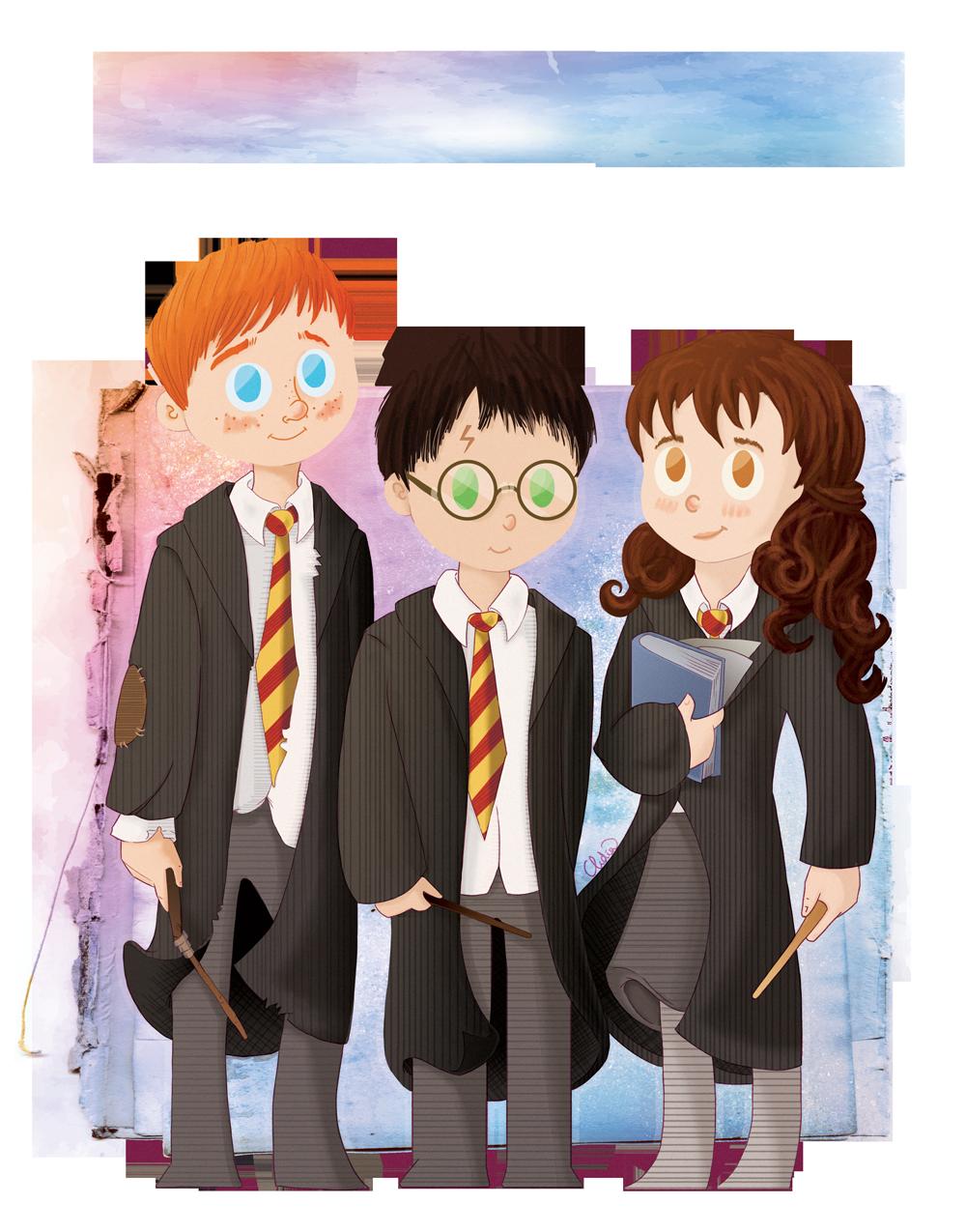 magic trio by Lizeeeee