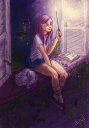 summer night by Lizeeeee