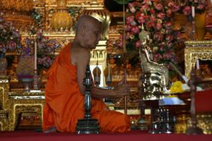 buddhist monk by alexci