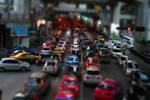 tilt shift rush hour by alexci