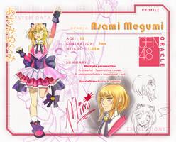 Gen48: Asami Megumi by Dearuu