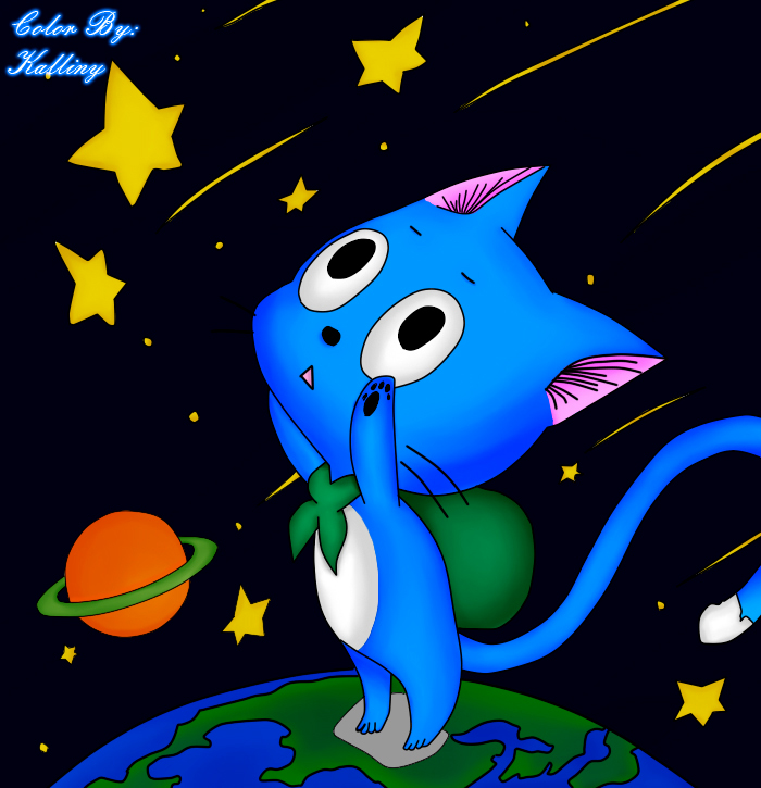 Happy Fish Fairy Tail Fairy Tail Chapter 401 Happy