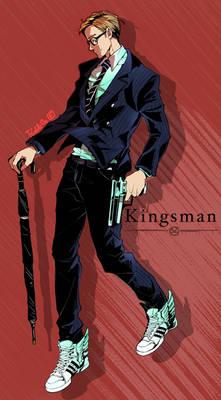 Eggsy @ Kingsman