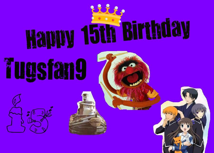 Happy Birthday Tugsfan9 no2 by Galaxy-Afro