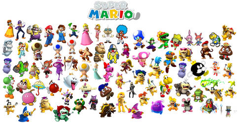 Super Mario Poster by Galaxy-Afro