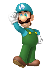 Ice Luigi by Galaxy-Afro