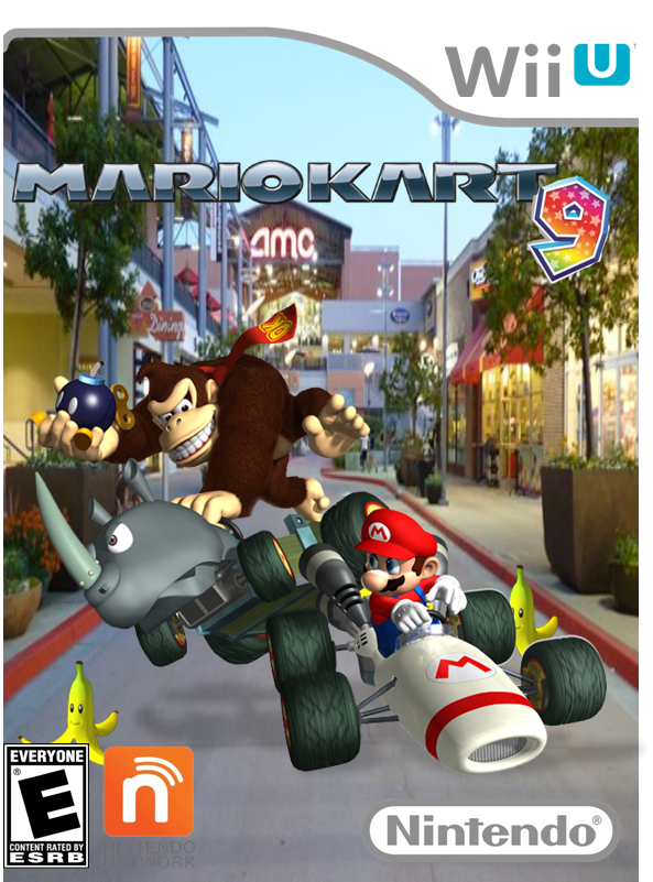 Mario Kart 9 Wii U Boxart Homemade By Galaxy Afro On