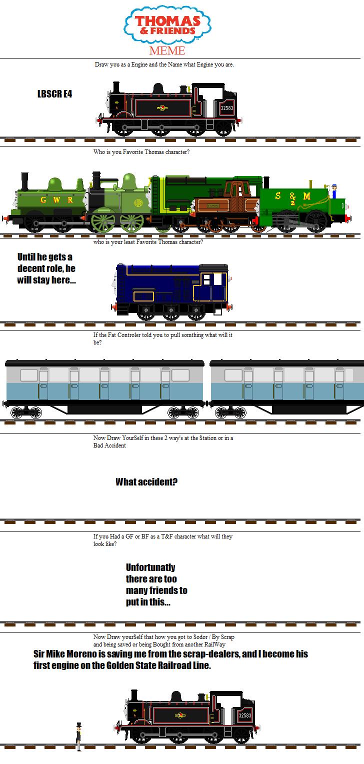 100th Devation!: Trainguy64's Thomas Meme! by Galaxy-Afro