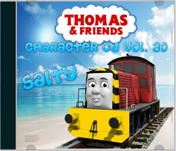 Salty Thomas And Friends Character