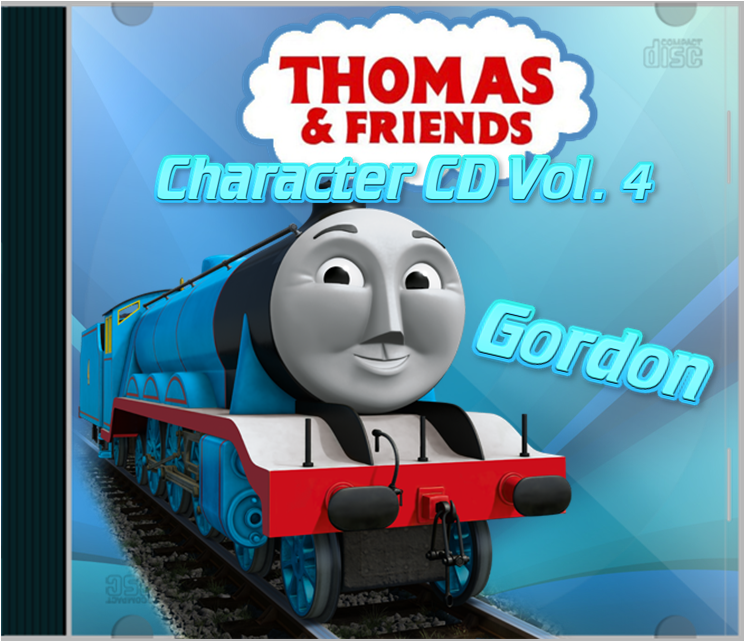 Thomas and Friends Character CD Vol 4 Gordon by Galaxy-Afro