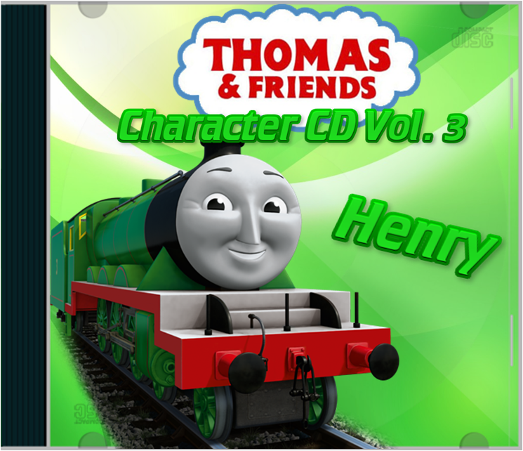 Thomas And Friends Character CD Vol 3 Henry By Galaxy Afro