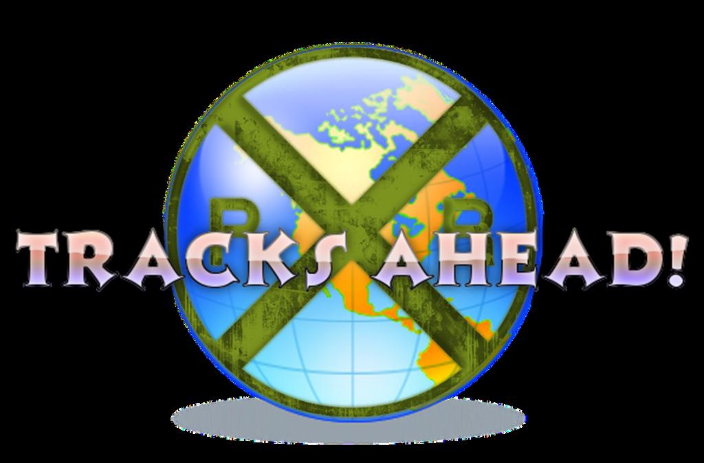 Tracks Ahead Logo by Galaxy-Afro