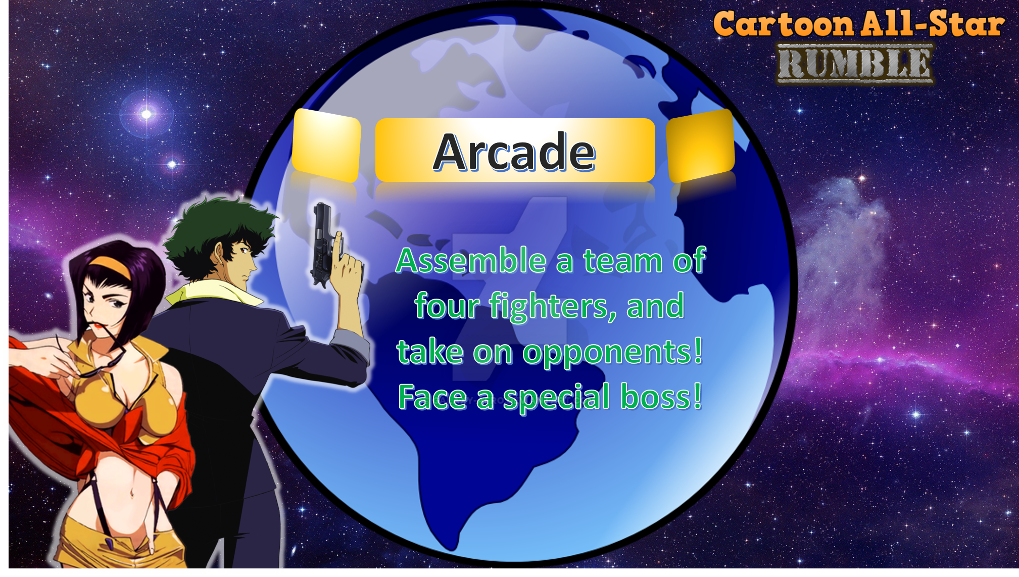 Arcade Mode (CASR) by Galaxy-Afro