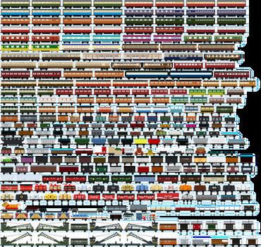 The Ultimate Standard Gauge Rolling Stock Sheet
