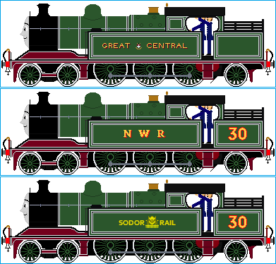 Ashley the Express Engine by Galaxy-Afro