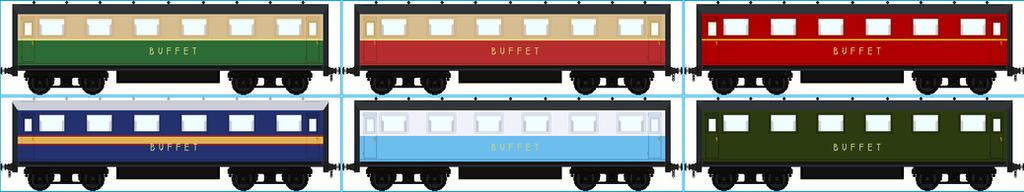 North Western Railway Buffet Cars by Galaxy-Afro