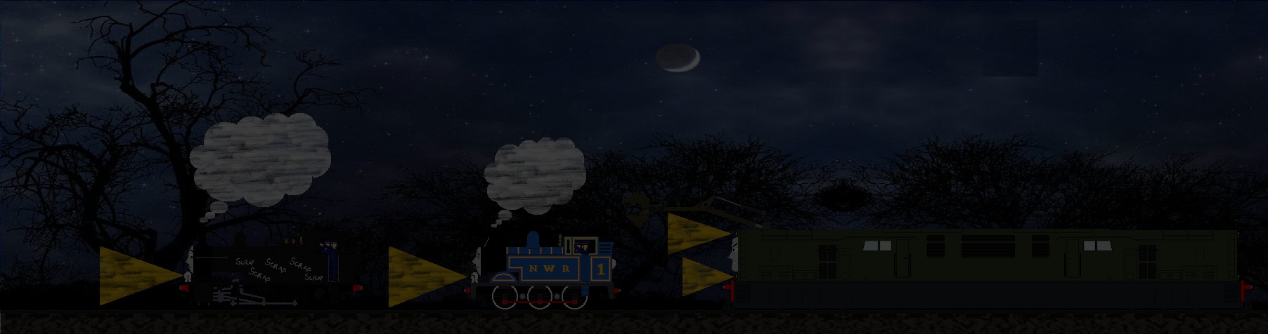 I'm Coming for YOU Thomas the Tank Engine! by Galaxy-Afro