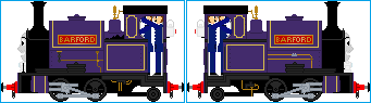 Little Barford the Narrow Gauge Engine by Galaxy-Afro