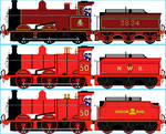 Eagle the Red Engine