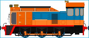 The Arizona Diesel Shunter by Galaxy-Afro