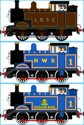 Thomas the Tank Engine V2 by Galaxy-Afro