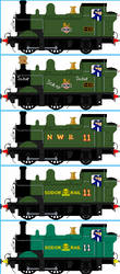 Oliver the Western Engine by Galaxy-Afro