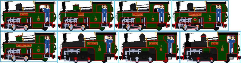 Snowdon Mountain Railway Engines V2