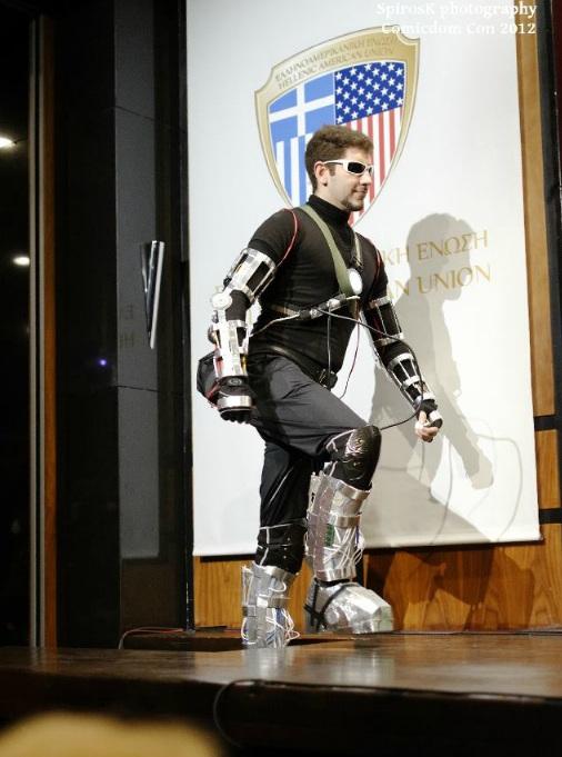 Tony Stark test flight cosplay Tony Stark Cosplay