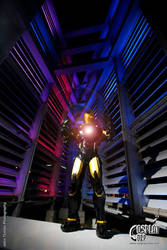 Iron Man Marvel Now Liquid Metal Armor by CosplayCorp