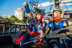 Captain Fortune and Corsair Quinn