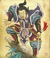 Vintage Samurai by mateuspaiao