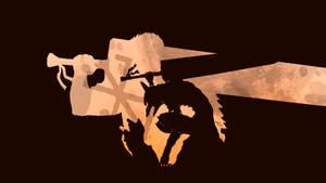 Gutts Berserk Armor - Wallpaper by mateuspaiao