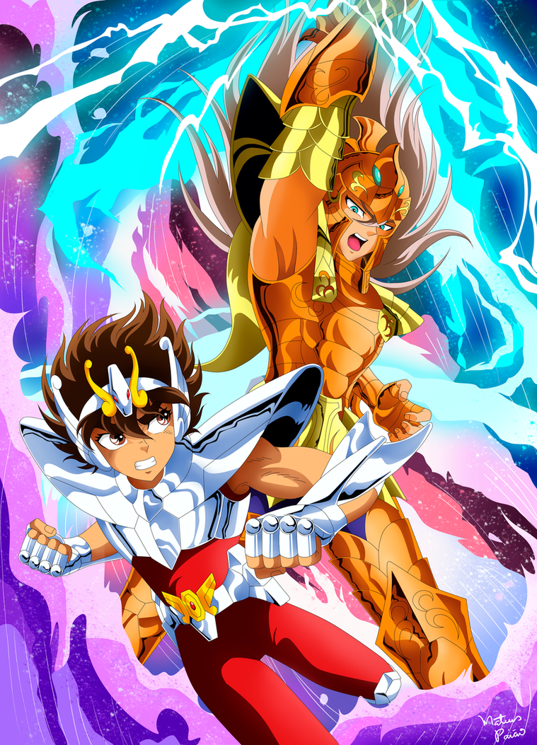 Seiya vs Bian by mateuspaiao
