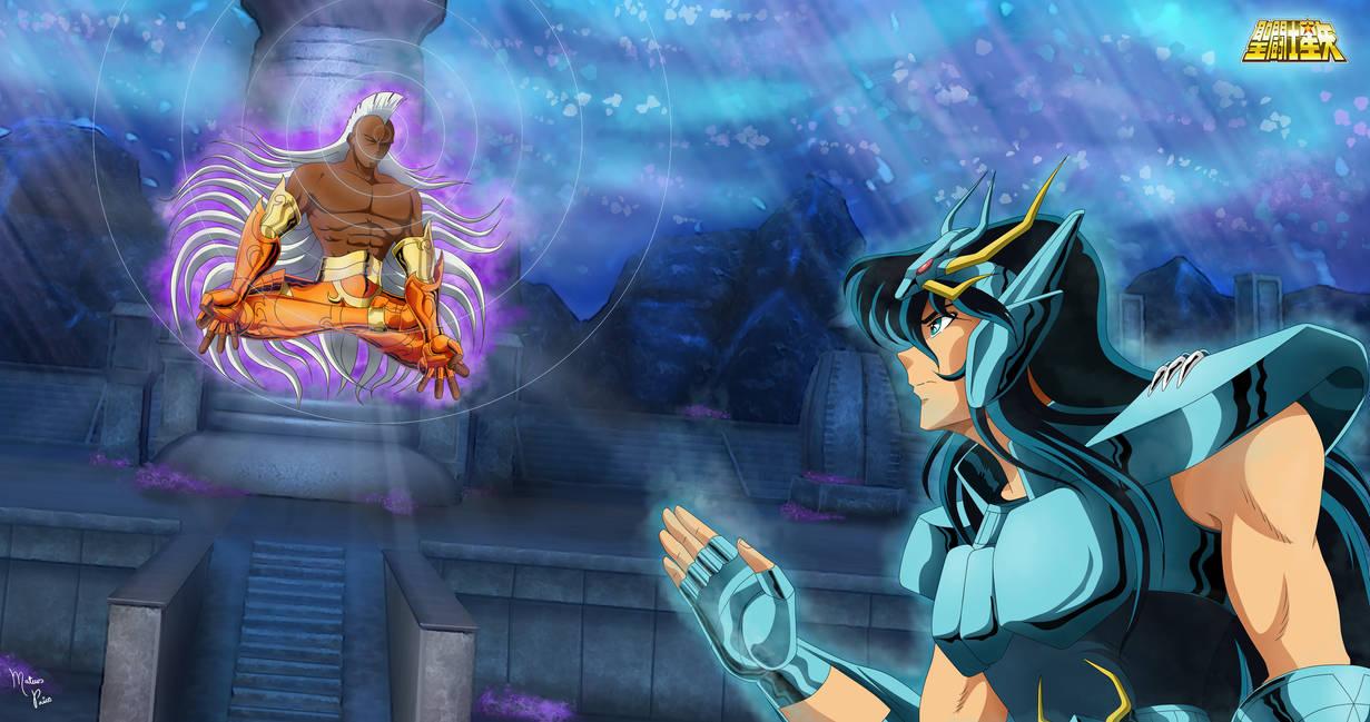 Shiryu vs Krishna by mateuspaiao
