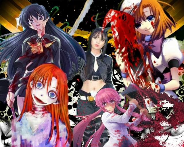 Cosplay102with Yandere Charactersblack Gold Saw By Kreinhart