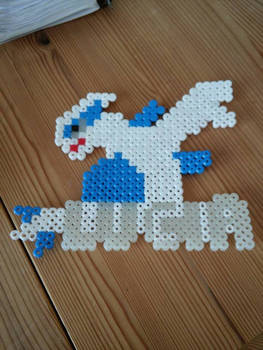 Lugia out of fusebeads