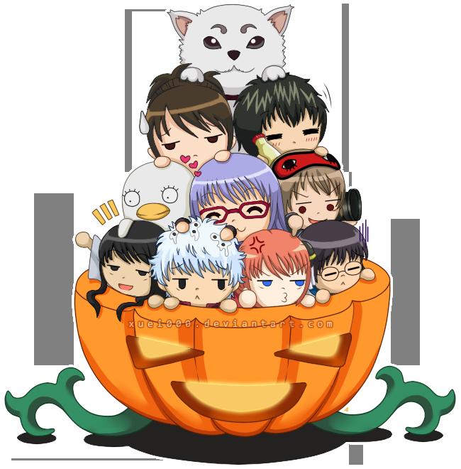 Gintama Pumpkin Treat By Xuei0000 On DeviantArt