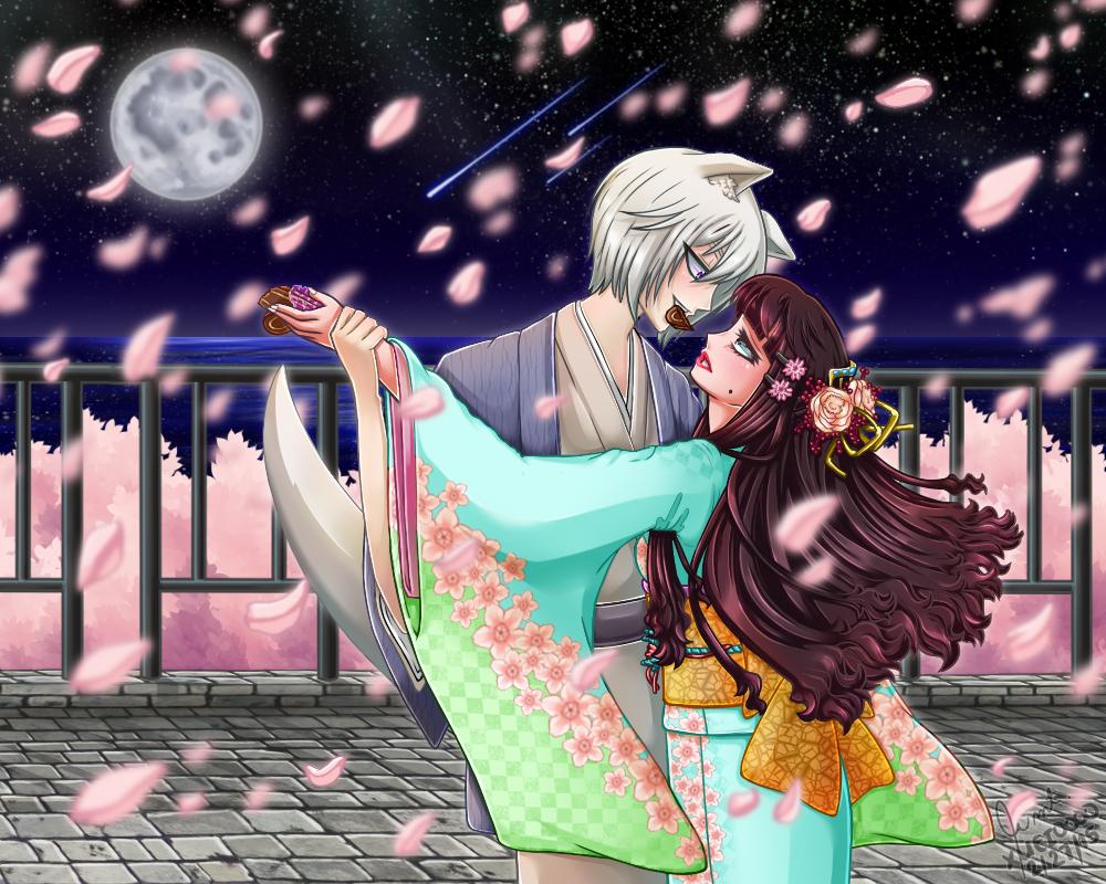 KH: Under the Cherry Moonlight by xuei0000