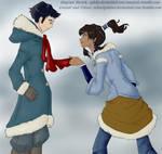 Iubita Makorra Sketch Coloured...correctly now! by selenityshiroi