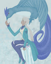 Blanche Team Mystic by selenityshiroi