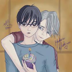 Happy Birthday Yuri Katsuki!