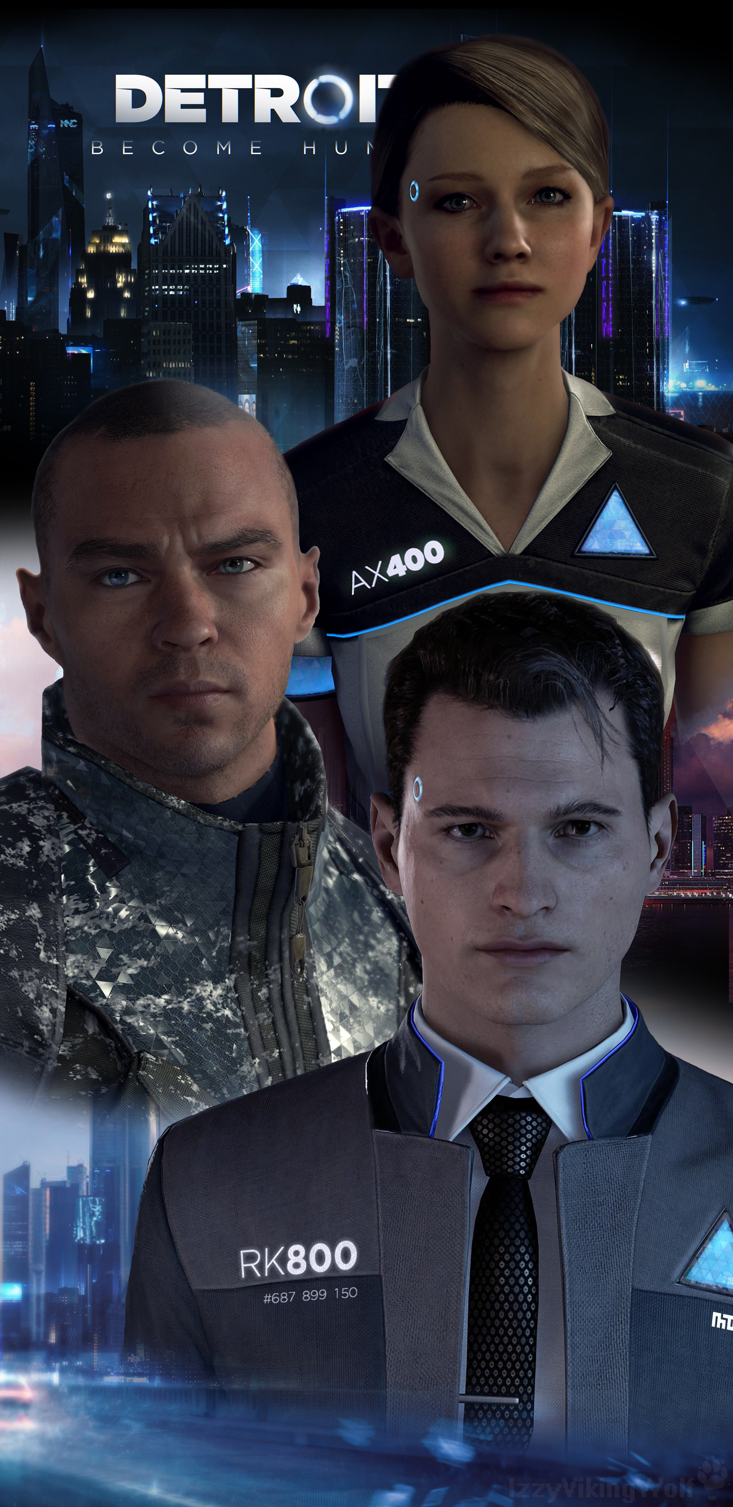 Detroit Become Human Samsung Galaxys8 Wallpaper By