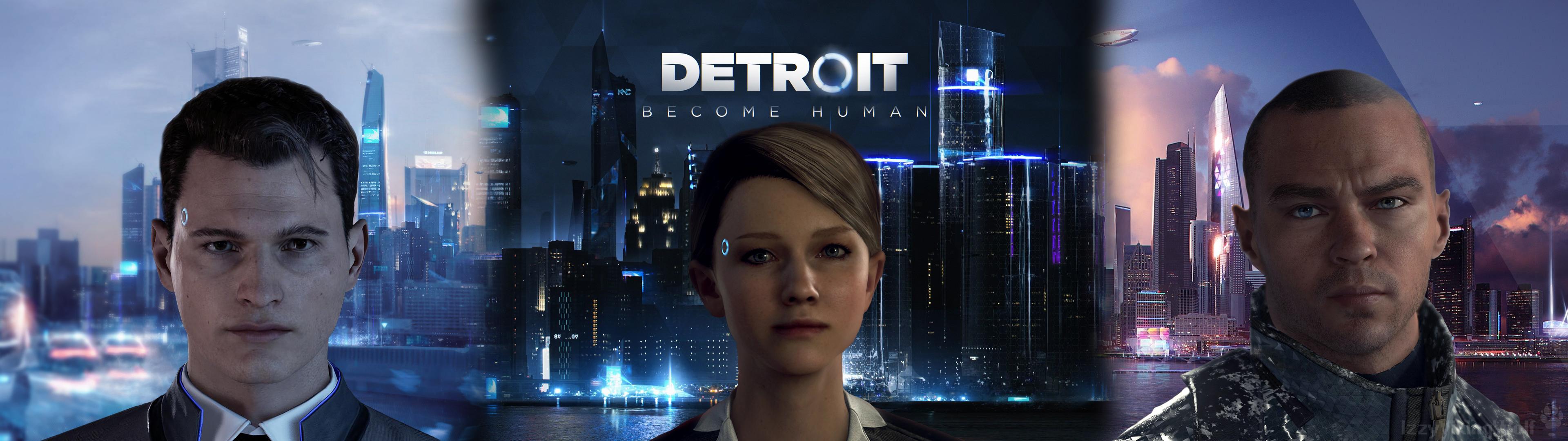 Detroit Become Human Dual Wallpaper By Izzyvikingwolf On Deviantart