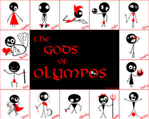 The Gods of Olympos